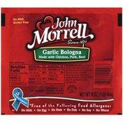 John Morrell Garlic Bologna Lunchmeat