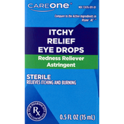 CareOne Eye Drops, Itchy Relief