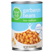 Food Club Low Sodium Garbanzo Beans