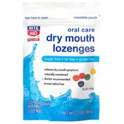 Rite Aid Fast Acting Dry Mouth Lozenges, Fruit Mix