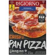 DiGiorno Crispy Pan Pizza Pepperoni Frozen Pizzas