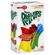 Fruit Roll Ups Fruit Flavored Snacks, Blastin' Berry Hot Colors