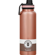 Haven & Key Tumbler, Stainless Steel, Rose Gold, 40 Ounce