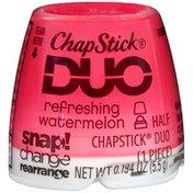 Chapstick Duo Refreshing Watermelon