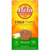 Metamucil Apple Crisp Fiber Thins Fiber Supplement