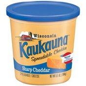 Kaukauna Sharp Cheddar Spreadable Cheese