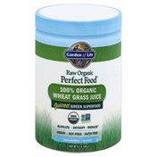 Garden of Life Wheat Grass Juice, 100% Organic, Unflavored