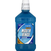 CareOne Mouth Rinse, Antiseptic, Blue Mint Flavor