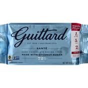 Guittard Baking Chips, Dark Chocolate, 72% Cacao