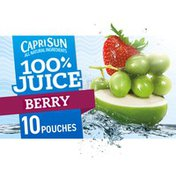 Capri Sun Berry Naturally Flavored Juice Blend
