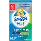 Snuggle Plus SuperFresh Original Fabric Conditioner Dryer Sheets