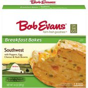 Bob Evans Farms Southwest with Peppers Egg Cheese & Hash Browns ID 628 Breakfast Bakes