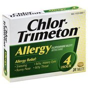 Chlortrimeton Antihistamine, 4 Hour, Tablets, Box