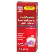 Rite Aid Pharmacy Acetaminophen, Childrens, Non Aspirin, Oral Suspension Liquid, Grape Flavor