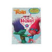 Golden Books Love Is in the Hair! DreamWorks Trolls Paperback