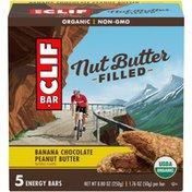 CLIF Bar Nut Butter Filled Banana Chocolate Peanut Butter