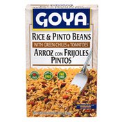 Goya Rice & Pinto Beans Mix, with Green Chiles & Tomatoes