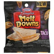 Kraft Cheese Product, Pasteurized Prepared, Reduced Fat, Taco Flavored