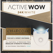 Active Wow Teeth Whitening Kit, Charcoal