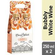 Chateau Ste. Michelle Bubbly Sparkling White Wine 2-pack Aluminum Bottle