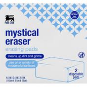 Food Lion Erasing Pads, Mystical Eraser