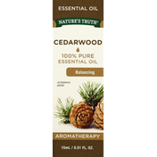 Nature's Truth Essential Oil, 100% Pure, Cedarwood