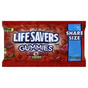 LifeSavers Gummies, Sours, Mix O Reds, Share Size