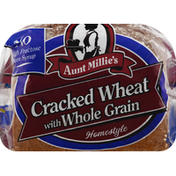 Aunt Millie's Bread, Cracked Wheat, with Whole Grain, Home Style
