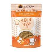 Weruva Chicken & Salmon Slide & Serve Love Connection Cat Food