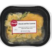 Ukrops Broccoli and Rice Casserole