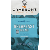 Camerons Coffee, Ground, Light Roast, Breakfast Blend