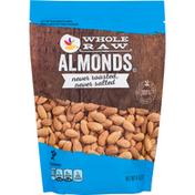 SB Almonds, Whole Raw