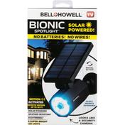 Bell and Howell Spot Light, Bionic, Solar Powered