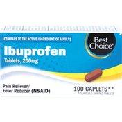 Best Choice Ibuprofen Brown Caplets