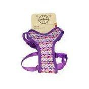 "Bond & Co 18"" Purple Zigzag Harness"