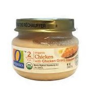 O Organics For Baby Organic Baby Food Stage 2 Chicken With Chicken Gravy