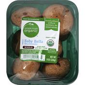 Simple Truth Organic Mushrooms, Baby Bella, Whole