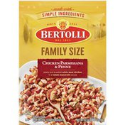 Bertolli Family Size Chicken Parmigiana And Penne Skillet