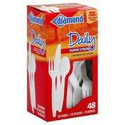 Diamond Cutlery, Luncheon Size