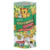 Koala's March Cookies, Chocolate Creme Filled, Family Pack