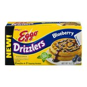 Eggo Kellogg's Eggo Drizzlers Waffles Blueberry - 6 CT