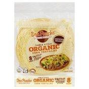 Don Pancho Tortillas, Corn, Organic, Table Style