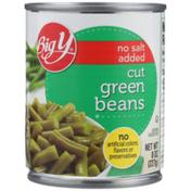 Big Y No Salt Added Cut Green Beans