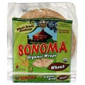 La Tortilla Factory Organic Wraps, Wheat