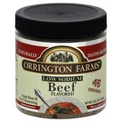 Orrington Farms Soup Base & Food Seasoning, Low Sodium, Beef Flavored