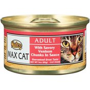 NUTRO Cat Food, With Savory Venison Chunks In Sauce