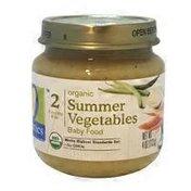 O Organics Organic Summer Vegetables Baby Food