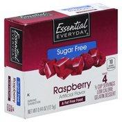 Essential Everyday Gelatin Dessert, Sugar Free, Raspberry