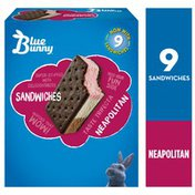 Blue Bunny Neapolitan Frozen Dessert Sandwich