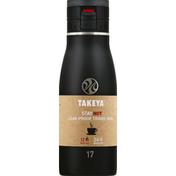 Takeya Travel Mug, Leak-Proof, Onyx, 17 Ounce